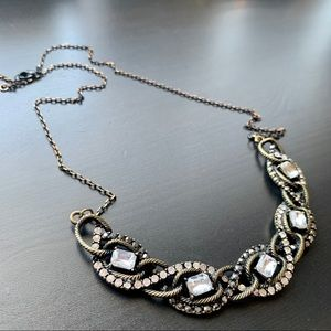 Jewelry - Long Gold/Bronze Toned Statement Necklace